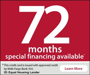 Wells Fargo 72 Months Financing Learn More