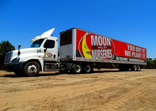 Moon Valley Nurseries Truck