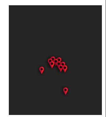 Arizona Map Pins